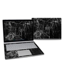 DecalGirl MISB27-BLACK-MARBLE Microsoft Surface Book 2 13.5in (i7) Skin - Black Marble (Skin Only)