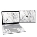 DecalGirl MISB27-WHT-MARBLE Microsoft Surface Book 2 13.5in (i7) Skin - White Marble (Skin Only)