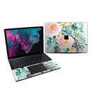 DecalGirl MS3L13-BLUSHEDFLOWERS Microsoft Surface Laptop 3 13.5in Skin - Blushed Flowers (Skin Only)