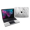 DecalGirl MS3L13-WHT-MARBLE Microsoft Surface Laptop 3 13.5in Skin - White Marble (Skin Only)