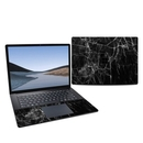 DecalGirl MS3L15R-BLACK-MARBLE Microsoft Surface Laptop 3 15in Skin - Black Marble (Skin Only)