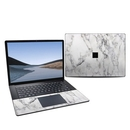 DecalGirl MS3L15R-WHT-MARBLE Microsoft Surface Laptop 3 15in Skin - White Marble (Skin Only)
