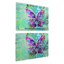 DecalGirl MSP6-BFLYGLASS Microsoft Surface Pro 6 Skin - Butterfly Glass (Skin Only)