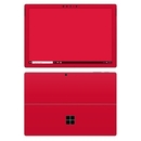DecalGirl MSP7-SS-RED Microsoft Surface Pro 7 Skin - Solid State Red (Skin Only)