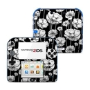 DecalGirl N2DS-STRIPEDBLOOMS Nintendo 2DS Skin - Striped Blooms (Skin Only)