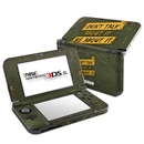DecalGirl N3D5X-DONTALK Nintendo New 3DS XL Skin - Don't Talk (Skin Only)