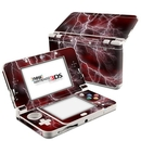 DecalGirl N3DS15-APOC-RED Nintendo 3DS 2015 Skin - Apocalypse Red (Skin Only)
