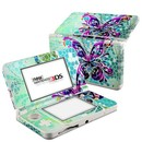 DecalGirl N3DS15-BFLYGLASS Nintendo 3DS 2015 Skin - Butterfly Glass (Skin Only)