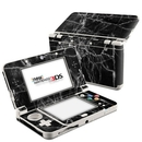 DecalGirl N3DS15-BLACK-MARBLE Nintendo 3DS 2015 Skin - Black Marble (Skin Only)