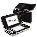 DecalGirl N3DS15-BLK-PANTHER Nintendo 3DS 2015 Skin - Black Panther (Skin Only)