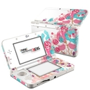 DecalGirl N3DS15-BLUSHBLS Nintendo 3DS 2015 Skin - Blush Blossoms (Skin Only)