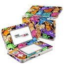 DecalGirl N3DS15-CLRKIT Nintendo 3DS 2015 Skin - Colorful Kittens (Skin Only)