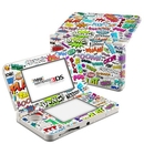 DecalGirl N3DS15-COMICS Nintendo 3DS 2015 Skin - Comics (Skin Only)