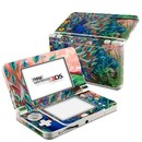DecalGirl N3DS15-CORALPC Nintendo 3DS 2015 Skin - Coral Peacock (Skin Only)