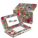 DecalGirl N3DS15-DOODLESCLR Nintendo 3DS 2015 Skin - Doodles Color (Skin Only)