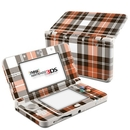 DecalGirl N3DS15-PLAID-CPR Nintendo 3DS 2015 Skin - Copper Plaid (Skin Only)