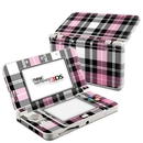 DecalGirl N3DS15-PLAID-PNK Nintendo 3DS 2015 Skin - Pink Plaid (Skin Only)