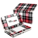 DecalGirl N3DS15-PLAID-RED Nintendo 3DS 2015 Skin - Red Plaid (Skin Only)