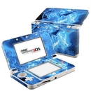 DecalGirl N3DS15-QWAVES-BLU Nintendo 3DS 2015 Skin - Blue Quantum Waves (Skin Only)