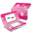DecalGirl N3DS15-RETROFLOWER-PNK Nintendo 3DS 2015 Skin - Retro Pink Flowers (Skin Only)