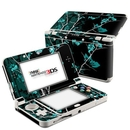 DecalGirl N3DS15-TRANQUILITY-BLU Nintendo 3DS 2015 Skin - Aqua Tranquility (Skin Only)