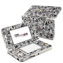 DecalGirl N3DS15-TVKILLS Nintendo 3DS 2015 Skin - TV Kills Everything (Skin Only)