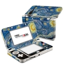DecalGirl N3DS15-VG-SNIGHT Nintendo 3DS 2015 Skin - Starry Night (Skin Only)