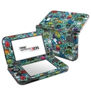DecalGirl N3DSLL-JTHIEF Nintendo 3DS LL Skin - Jewel Thief (Skin Only)
