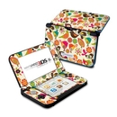 DecalGirl N3DX-BIRDFLOWERS Nintendo 3DS XL Skin - Bird Flowers (Skin Only)