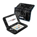 DecalGirl N3DX-BLACK-MARBLE Nintendo 3DS XL Skin - Black Marble (Skin Only)