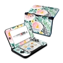 DecalGirl N3DX-BLUSHEDFLOWERS Nintendo 3DS XL Skin - Blushed Flowers (Skin Only)