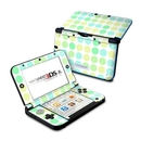 DecalGirl N3DX-DOTS-BIG-MNT Nintendo 3DS XL Skin - Big Dots Mint (Skin Only)