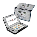 DecalGirl N3DX-GKITTY Nintendo 3DS XL Skin - Grey Kitty (Skin Only)