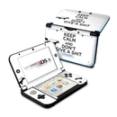 DecalGirl N3DX-KEEPCALM-HB Nintendo 3DS XL Skin - Keep Calm - HB (Skin Only)