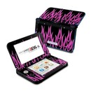 DecalGirl N3DX-NFLAMES-PNK Nintendo 3DS XL Skin - Pink Neon Flames (Skin Only)
