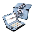 DecalGirl N3DX-PENGUINHEART Nintendo 3DS XL Skin - Penguin Heart (Skin Only)