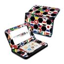 DecalGirl N3DX-SFLAGS Nintendo 3DS XL Skin - Soccer Flags (Skin Only)