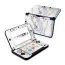 DecalGirl N3DX-WHT-MARBLE Nintendo 3DS XL Skin - White Marble (Skin Only)