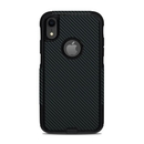 DecalGirl OCAIXR-CARBON OtterBox Commuter iPhone XR Case Skin - Carbon (Skin Only)