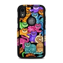DecalGirl OCAIXR-CLRKIT OtterBox Commuter iPhone XR Case Skin - Colorful Kittens (Skin Only)