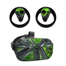 DecalGirl OCQU-ABST-GRN Oculus Quest Skin - Emerald Abstract (Skin Only)