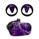 DecalGirl OCQU-APOC-PRP Oculus Quest Skin - Apocalypse Violet (Skin Only)