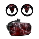 DecalGirl OCQU-APOC-RED Oculus Quest Skin - Apocalypse Red (Skin Only)