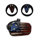 DecalGirl OCQU-OLDGLORY Oculus Quest Skin - Old Glory (Skin Only)