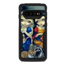 DecalGirl OCS10-ALCSNW OtterBox Commuter Galaxy S10 Case Skin - Alice & Snow White (Skin Only)