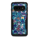 DecalGirl OCS10-COSRAY OtterBox Commuter Galaxy S10 Case Skin - Cosmic Ray (Skin Only)
