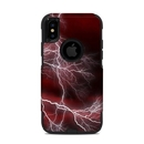 DecalGirl OCXS-APOC-RED OtterBox Commuter iPhone X-XS Case Skin - Apocalypse Red (Skin Only)