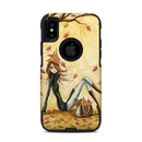 DecalGirl OCXS-AUTLEAVES OtterBox Commuter iPhone X-XS Case Skin - Autumn Leaves (Skin Only)