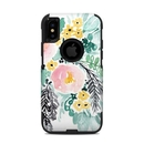 DecalGirl OCXS-BLUSHEDFLOWERS OtterBox Commuter iPhone X-XS Case Skin - Blushed Flowers (Skin Only)