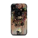 DecalGirl OCXS-DBLOOM OtterBox Commuter iPhone X-XS Case Skin - Doom and Bloom (Skin Only)